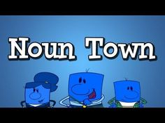 "▶ Noun Song from Grammaropolis - ""Noun Town"" - YouTube #nouns #partsofspeech"