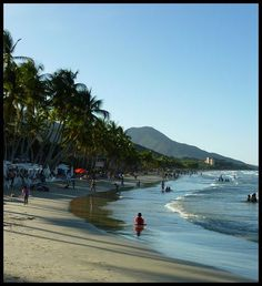 Playa Guacuco, Isla de Margarita, Vzla.