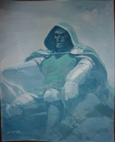Dr Doom Esad Ribic, in Trent Abraham's Esad Ribic Comic Art Gallery Room - 939884