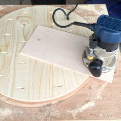 How to Cut a Round Table Top