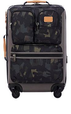 Alpha Bravo 22 Kirtland International Expandable Carry-On Suitcase Cute Luggage, Carry On Suitcase, Tumi, Barneys New York, Black Trim, Travel Accessories, Camouflage, Leather Bag, Luxury Fashion