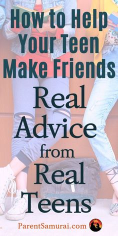Friends are so important in a teenager's life that the relative scarcity of them is likely to make your teen anxious. Very anxious. Consider this real-world teen advice before you try to help. Raising Teenagers, Parenting Teenagers, Parenting Memes, Foster Parenting, Gentle Parenting, Parenting Advice, Toddler Behavior, Teen Dating, Teenage Daughters