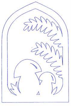 Wycinanka-jesien - Joasia K. - Picasa Web Album Kirigami, Diy And Crafts, Arts And Crafts, Paper Crafts, Stencils, Mushroom Crafts, Silhouette Curio, Autumn Crafts, Scroll Saw Patterns
