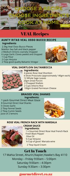 Get easy cooking tips,recipes and ideas.So we test our recipes using different equipment and several chefs.Check out the slow cooker tips we are providing. Easy Cooking, Cooking Time, Cooking Recipes, Veal Osso Bucco, Veal Recipes, How To Cook Beef, Best Meat, Food Tasting, Recipe Using