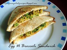 Priya's Versatile Recipes: Scrambled Eggs N Broccoli Sandwich Egg Recipes Indian, Ethnic Recipes, My Favorite Food, Favorite Recipes, Bread Toast, Egg And I, Delicious Sandwiches, Scrambled Eggs, Picky Eaters