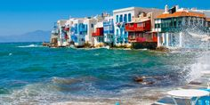 10 day honeymoon in Greece vacation package. Includes Greek islands Santorini, Mykonos and Athens Greece Tourism, Greece Travel, Greece Trip, Cyclades Greece, Santorini Greece, Beautiful Islands, Beautiful Places, Amazing Places, Site Web Design