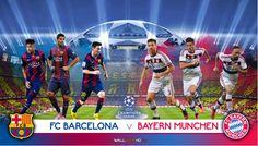 MATCH FC BARCELONA vs BAYERN MUNCHEN ☆ SEMI-FINALS CHAMPIONS ...