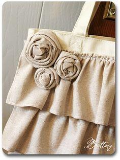 Cute bags tutorial.