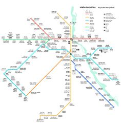 A Handy Map of the Delhi Metro: Map of Delhi Metro Train Network