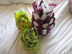 de serviette en papier en forme ananas distributeur de serviette en pliage de serviette de
