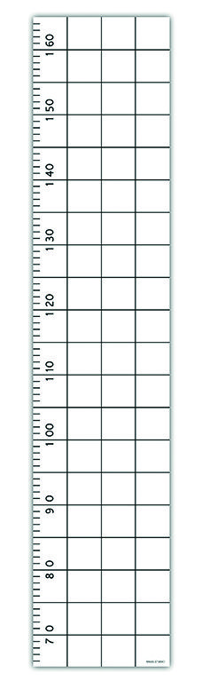 SNUG.GROW growth chart in classic grid design - gives you room for notes and dates of your child. http://snugonline.bigcartel.com/products
