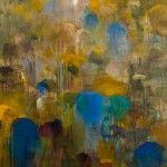 "Michael Mazur, ""Upland"" 1996, abstract artist"