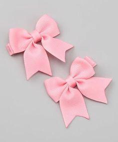Mini Hair Bow Clips