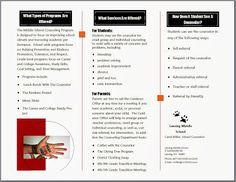 Counseling Program Brochure