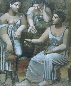 Drei Frauen an der Quelle PABLO PICASSO Kunstdruck Reproduktion Surrealismus