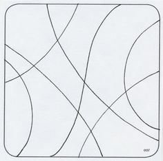1000 images about zentangle strings or empty patterns on for Zentangle tile template