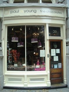 Paul A Young chocolates, London - Place to  for visit
