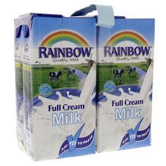Buy Rainbow Full Cream Milk 1 Litre Online in UAE,Abu dhabi, Dubai, Qatar, Kuwait