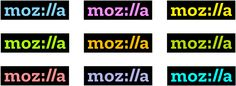 New Logo for Mozilla by johnson banks #logo #design #graphics #mozilla #rebrand #moz://a