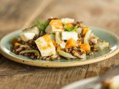 Warmer Linsen-Fenchel-Salat mit Halloumi_mag