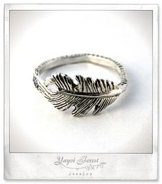 Broken feather ring