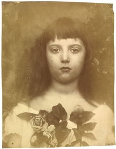 Florence Fisher by Julia Margaret Cameron, England, 1872. l Victoria and Albert Museum