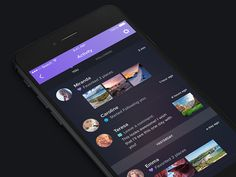 My last shot of my upcoming Night &Travel UI kit. I'll upload whole kit next week and I'm super excited about it. Everything will be ready for iPhone 5, iPhone 6 and iPhone 6+ as well. And obv...