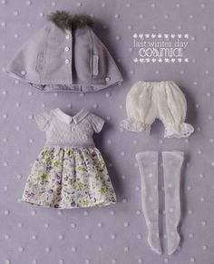 Last Winter Day par cosmiadoll sur Etsy, doll clothing set