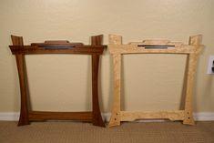 Greene & Greene frames for custom wood wall hangings