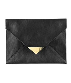 envelope clutch - like the idea of something like this to hold papers for projects..