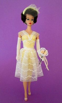 Japanese Edition dressed doll, bubblecut Barbie from the collection of Beth Glynn.
