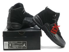 new arrival 8cc47 8aaf2 air jordan 11 black - Google Search Jordan 12 Ovo, Jordan 12 Black, Air
