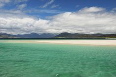 Scotland's most beautiful beaches: Take a look at our stunning shorelines - Daily Record Scotland Beach, Skye Scotland, Most Beautiful Beaches, Beautiful Places, Sandwood Bay, Isle Of Harris, Outer Hebrides, Landscape Background, Beautiful Islands