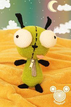 Crocheting: Gir Amigurumi Pattern