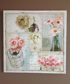 Melissa Frances Floral Bliss Collage Print | zulily