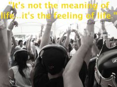 It's Not the Meaning of Life, it's the Feeling of Life. | Julianna N. Wilson    ADHD, Inspiration, & Quotes