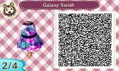 Cute QR Codes — bramblescrossing:   A little galaxy dress inspired...
