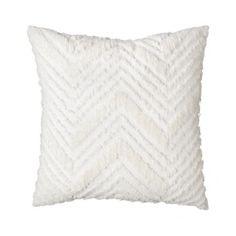 Nate Berkus™ Euro Chenille Pillow - White Quick Information