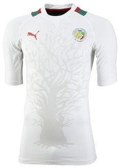 Senegal (Fédération Sénégalaise de Football) - 2012 Africa Cup of Nations Puma Home Shirt