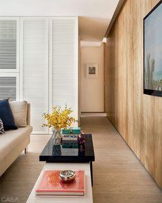 Apartamento de 65 m² em Ipanema ficou amplo e iluminado - Casa