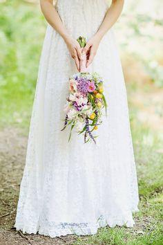 #bohemian #boho #chic #bruiloft #trouwen #huwelijk #trouwdag #bruidsboeket…
