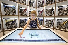 The new Brompton Junction bicycle shop recently opened in London's Covent Garden (via http://LondonTown.com)