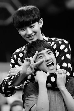 Chanyeol and D.O. - Meanwhile in Opposite World..