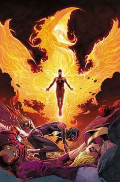 Cyclops as Dark Phoenix