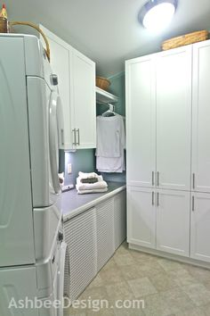 Ashbee Design: Laundry Room Reveal • IKEA Hack • Kvartal Hack