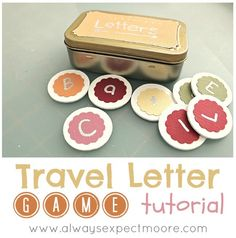 Travel Letter Game Tutorial by Always Expect Moore
