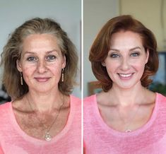 23 Before And After Photos That Shows The Power Of Makeup Here are incredible before and after makeup photos that show not only the power of makeup but also the talent of the makeup artist. Enjoy awesome makeup transformation photos of the day. Power Of Makeup, Beauty Makeup, Hair Makeup, Hair Beauty, Best Makeup Tips, Makeup Hacks, Makeup Over 50, Makeup For Older Women, Makeup To Look Younger