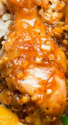 Slow Cooker Orange Chicken Drumsticks (Freezer Meal Friendly)