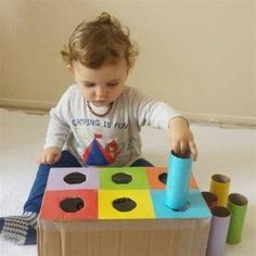 Baby Learning Activities, Montessori Activities, Infant Activities, Educational Activities, Baby Sensory Play, Baby Play, Baby Toys, Toddler Play, Preschool Crafts