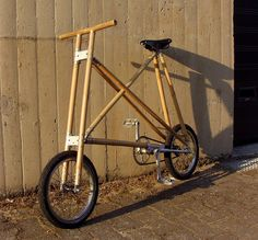 michael verhaeren's bamboo bicycle designboom | architecture & design magazine
